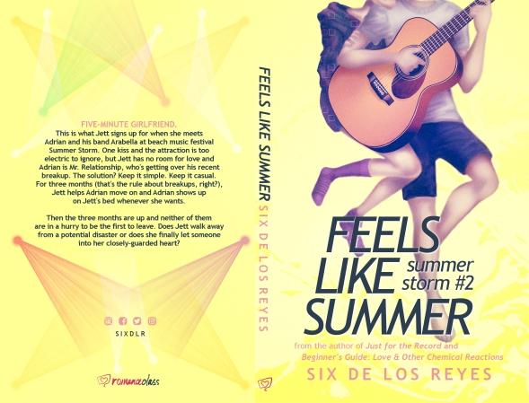 feels like summer book spread